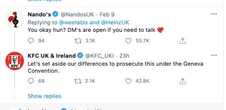 tweet replies